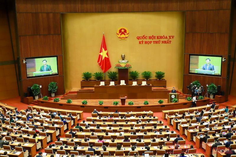 Thông báo Kỳ họp thứ Nhất Quốc hội (khóa XV)